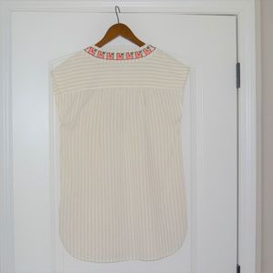 Madewell Tops - Madewell Embroidered Belize Tunic Cover-Up XS Boho